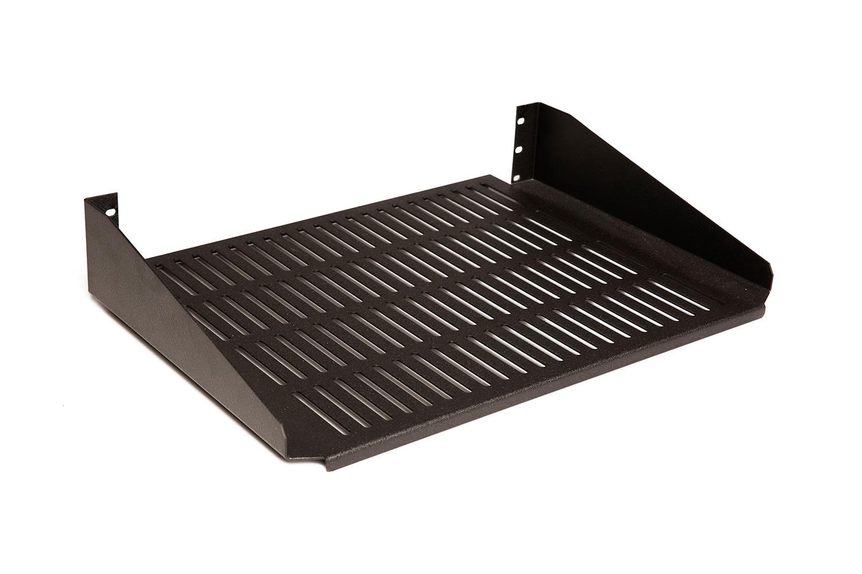 rmp roserack 2u vented universal rack cantilever shelf. Black Bedroom Furniture Sets. Home Design Ideas