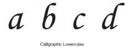 RMP Metal Stamping Kit Calligraphic Uppercase