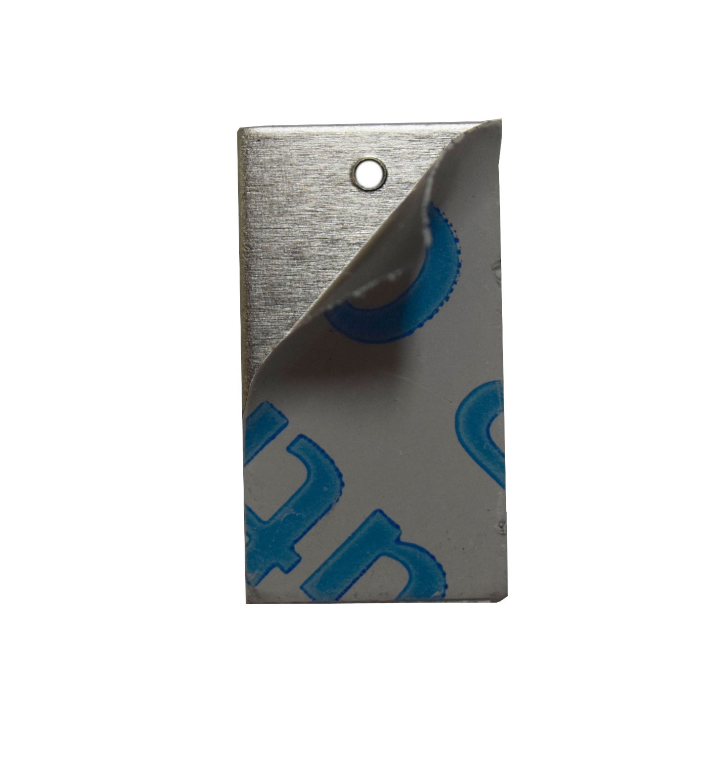 RMP Stamping Blanks Aluminum 0.063 Inch 1//2 Inch x 2 Inch Rectangle with One Hole - 50 Pack 14 Ga.