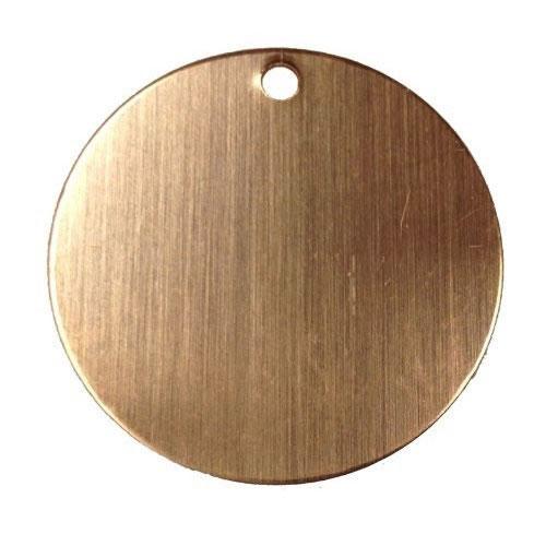 4 pcs,HM-59 25x28mm Textured Round Apparatus Stamp 1 Hole Textured Round Round Disc Charms Raw Brass Textured Round Stamping Blanks