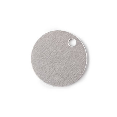 Aluminum 0.063 Inch RMP Stamping Blanks - 100 Pack 3//4 Inch Round with Hole 14 Ga.