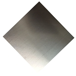 RMP 3003 Aluminum Sheet, 6 Inch x 6 Inch x 0.040 Inch Thick - PVC ONE SIDE - 20 Pack