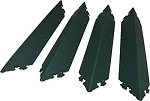 RMP Large 22 Inch Decorative Raised Bed Corner Brackets - Agusta Green- Set of 4