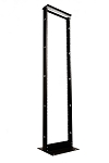 RMP RoseRack 84 Inch Two Post Open Frame Rack