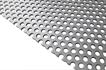 RMP 3003 H14 Perforated Aluminum Sheet 12 Inch x 24 Inch x 0.125 Inch