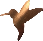 RMP 5 Inch Copper Humming Bird Cutout - 3 Pack