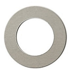 RMP Stamping Blanks, 1-1/4 Inch Round Washer with 3/4 Inch Center, Aluminum 0.063 Inch (14 Ga.) - 1,000 Pack