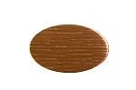 RMP Stamping Blanks,  1.164 Inch x 1.829 Inch Oval, 24 oz. Copper 0.032 Inch Thick (20 Ga.) - 10 Pack