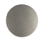 RMP Stamping Blanks, 3 Inch Round with No Hole, Aluminum 0.040 Inch (18 Ga.) - 100 Pack