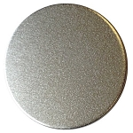 RMP Stamping Blanks, 5/8 Inch Round with No Hole, Aluminum 0.032 Inch (20 Ga.) - 50 Pack