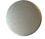 RMP Stamping Blanks, 3-1/2 Inch Round with No Hole, Aluminum 0.040 Inch (18 Ga.) - 100 Pack