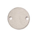 RMP Stamping Blanks, 1 Inch Round with Two Holes, Aluminum 0.063 Inch (14 Ga.) - 50 Pack