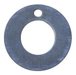 RMP Stamping Blanks, 3/4 Inch Washer With 3/8 Inch Center Hole, .063 Inch (14 Gauge) Aluminum - 50 Pack