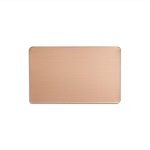 RMP Stamping Blanks, 2-1/8 Inch x 3-3/8 Inch Rectangle Wallet Card, 16 oz. Copper 0.021 Inch (24 Ga.) - 3 Pack