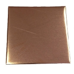 RMP Stamping Blanks, 1-1/2 Inch Square, Copper 16 oz. 0.021 Inch (24 Ga.) - 10 Pack