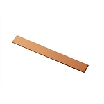 RMP Stamping Blanks, 3/4 Inch x 6 Inch Rectangle Bracelet, 16 oz. Copper 0.021 Inch (24 Ga.) - 10 Pack