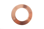 RMP Stamping Blanks, 1 Inch Round Washer with 5/8 Inch Center, 16 oz. Copper 0.021 Inch (24 Ga.) - 10 Pack