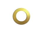 RMP Stamping Blanks, 1 Inch Round Washer with 5/8 Inch Center, Brass 0.032 Inch (20 Ga.) - 20 Pack