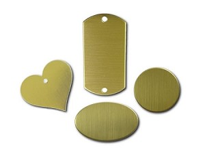 RMP Stamping Blanks, Brass Multi Pack 0.032 Inch (20 Ga.) - 20 pack