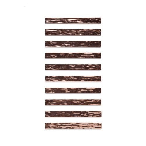 Rmp Textured Copper Bracelet Blanks 5 8 Width X 6 Length 021 Thickness 10 Pack 490000